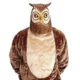 Amakando Tiermaske Vogel Eulen Maske Eulenmaske Uhu Vogelmaske Eule...