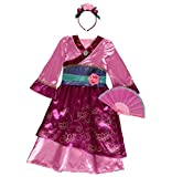 Officially licensed Disney Princess Mulan fancy dress Age 7-8 Years...