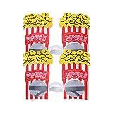 Amosfun 2 stücke Party Sonnenbrillen Neuheit Popcorn Brillen Kostüm...