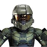 Halo Master Chief Overhead Costume Helmet Child One Size