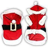 Weihnachten Hund Kleidung für kleine Hunde Santa Hund Kostüm...