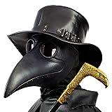 PartyCostume - Schwarz Pest Arzt Maske - Lange Nase Vogel Schnabel...