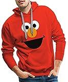 Spreadshirt Sesamstraße Elmo Kostüm Gesicht Männer Premium Hoodie,...