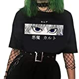 KIACIYA Anime Hunter x Hunter T-Shirt Damen Sommer, Killua Hisoka...