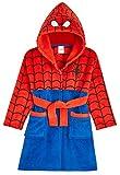 Marvel Bademantel Kinder, Spiderman Bademantel Jungen, Fleece...