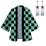 Hinevey Kamado Tanjirou Tomioka Giyuu Agatsuma Zenitsu Cosplay Kimono...