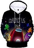 Chaos World Herren Among Us Hoodie 3D Spiel Sweatshirt Langarm Casual...