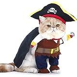 PTN Haustierkostüm für Hunde und Katzen, Aihua eu Katzen Piraten...