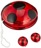 'Rubies Kostüm Miraculous Marienkäfer Yo-Yo und Clip-On Ohrringe