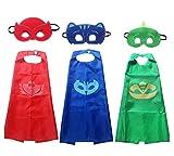 Brigamo 3 x Pyjama Helden Superhelden Kinderkostüm Kinder Kostüme,...