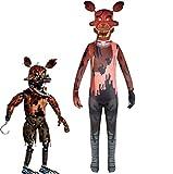 Sanyio FNAF Kostüm, Five Nights at Freddy's Kostüm Nightmare Foxy...