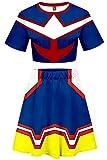 My Hero Academia Cosplay All Might Kostüm Cheerleader Cheerleading...