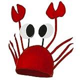 La vogue Krebs Hut Krabben Krebs Mütze für Kostüm Karneval...