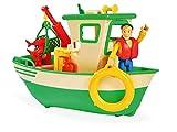Simba 109251074 - Feuerwehrmann Sam Charlies Fischerboot, mit Charlie...