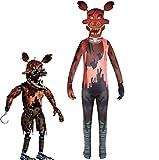 Godmoy Nightmare Foxy Cosplay Kostüme Five Nights at Freddy's Kostüm...