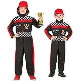 Widmann 52595 52595-Kinderkostüm Formel 1 Fahrer, Overall,...