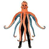Kraken Kostüm Oktopus Tunika Einheitsgröße Gr.M/L - UNISEX