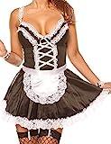 Unibaby Sexy Maid Kostüm für Frauen Anime Cosplay Outfits Schürze...