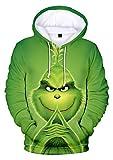 YIMIAO Unisex Christmas Frauen Weihnachten Hoodies Männer 3D Print...