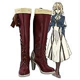 WSJDE Anime Violet Evergarden Cosplay Party Schuhe Frauen Stiefel...