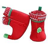 Fenical Baby Weihnachten Elf Fleece Slipper Booties Schuhe Säugling...