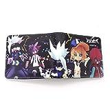 NUANDI PAPHNN Anime Bifold Cosplay Unisex Studenten Brieftasche...