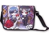 YOYOSHome Anime Black Butler Messenger Bag Cosplay Sebastian Michaelis...