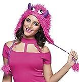 Boland 81029 - Hut Sweet Monster, Pink-Lila, Unisex, Mütze aus...