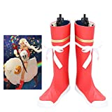 Gowell Anime Fate Grand Order FGO Altera Mid Calf Boot Cosplay Schuhe...