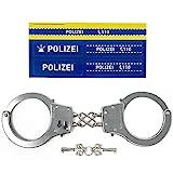 Polizei Handschellen Kinder aus Metall - Zu Karneval oder für das...