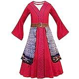 Lito Angels Prinzessin Hua Mulan Kostüm Kleid für Kinder Mädchen,...