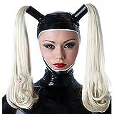 ZYAM 100% SM Latexm-ḁṤ-kè, Halloween Full Head Gummi Latex...