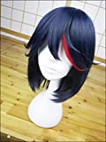 Hochwertige Anime KILL la KILL Matoi Ryuko Perücke kurz blau mit rot...