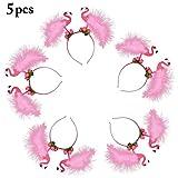 Flamingo Stirnbänder, FunPa 5 Stück Party Stirnbänder Rosa...