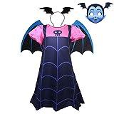 W Baby-Vampir-Kostüm Halloween Kleid Mit Schablone Kindkleidung...