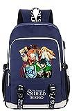 Anime The Rising of The Shield Hero Rucksack Cosplay Bookbag Daypack...