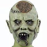 Zombie Maske aus Latex Halloween Zombiemaske Kostüm Horror...