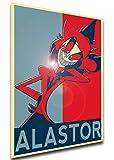 Instabuy Poster - SA0440 - Propaganda - Hazbin Hotel - Alastor