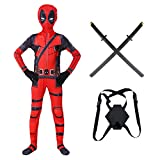 KIDsportxie Deadpool Erwachsene Kinder 3D Printed Cosplay Kostüme...