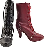 GSFDHDJS Cosplay Stiefel Schuhe for Batman Suicide Squad Harley Quinn...