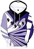 Takyojin Jungen Naruto Hokage Cosplay Hoodie Akatsuki Kapuzenpullover...