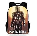 X-COSTUME Mandalorian Rucksack Bounty Hunter Backpack Schultasche...