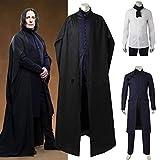 Jwyq Halloween Herren Magie Harry Kostüme Herren Professor Severus...