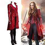 Lydia's Anime Scarlet Witch Kostüm Captain America: Bürgerkrieg...