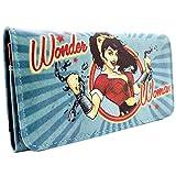 Wonder Woman Amazonier vereinigen Sich Grün Portemonnaie Geldbörse
