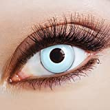 aricona Farblinsen Farbige Kontaktlinse Sky-blue   – Deckende...