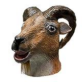 molezu Ziege Antilope Tierkopf Maske Halloween Party Kostüme Kostüm...