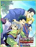 Hunter × Hunter Coloring Book: libro para colorear de cazador x Gon...