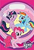 Amscan 9902513 - Partytüten My Little Pony, 8 Stück, 23 x 16,5 cm,...