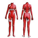 Ichigo Cosplay Kostüm Darling in The Franxx Zero Two Ichigo Cosplay...